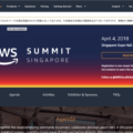AWS summit singapore 2018