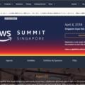 AWS summit singapore 2018